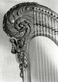 Naderman Harp Scroll detail