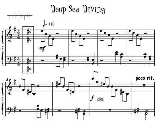 Deep Sea Diving, excerpt